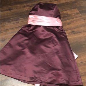 Levkoff purple gown dress 12